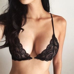 Other - Black Lace Bralette